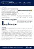 Legg Mason Multi-Manager Balanced Fund (USD)* - Seite 2