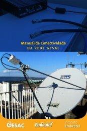 Manual de conectividade da rede gesac - PDF - Instituto Embratel