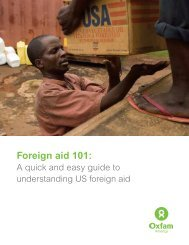 Foreign aid 101: - Women Thrive Worldwide