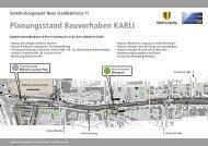 Planungsstand Bauvorhaben KARLI - Lvb