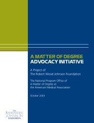A Matter of Degree: The Advocacy Initiative - research.policyar...