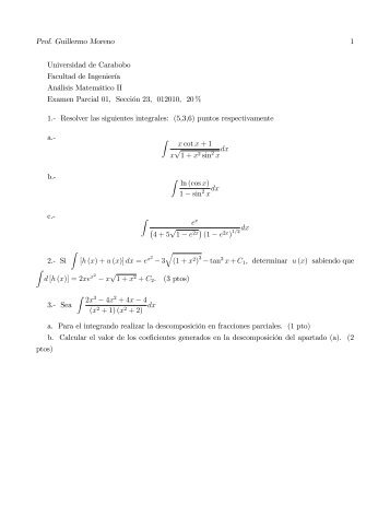 Modelo semestre 1 2010 - Facultad de Ingeniería - Universidad de ...