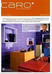 Broschüre für bodengleiche Duschen - LUX ELEMENTS