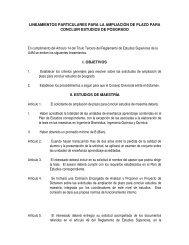 14.lineamientos particulares para la ampliacion de ... - CBI - UAM