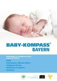 Baby Kompass - Bayerisches Staatsministerium für Umwelt und ...