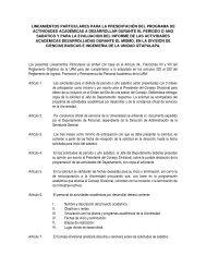 6.lineamientos particulares para la presentacion del ... - CBI - UAM