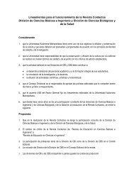 Lineamientos para el funcionamiento de la Revista ... - CBI - UAM