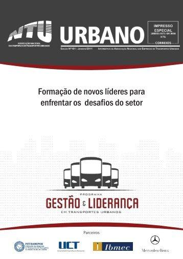 Urbano, edição 161, janeiro 2011. Boletim informativo da ...