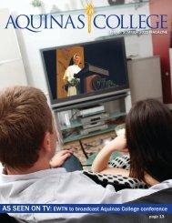 Spring 2011 - Aquinas College