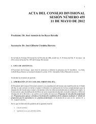 Acta 455, 11 de Mayo 2012 - CBI - UAM