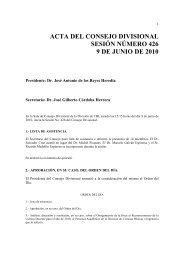 Acta 426, 9 de Junio 2010 - CBI