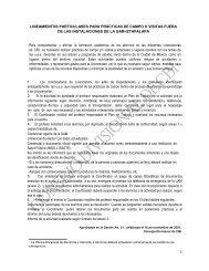 26.lineamientos particulares para prácticas de campo o ... - CBI - UAM