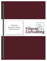 CEM Getting Results - Filigree Consulting