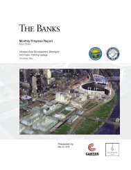 IDMA April 2009 Monthly Report - The Banks Public Partnership