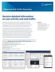 Advanced Web Traffic Reporting - Lightspeed Systems