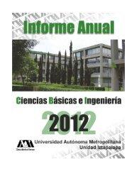 Informe Anual 2012 - CBI - UAM