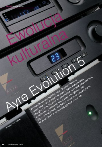 48-56 Ayre Evolution 5 - Audiofast