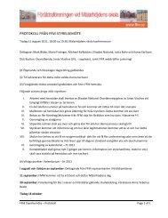 Protokoll från styrelsemöte den 8 augusti - Föräldraföreningen vid ...