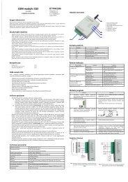 GSM modulis CG5 - Trikdis
