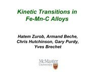 Kinetic Transitions in Fe-Mn-C Alloys - alemi.ca
