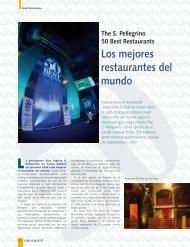 The S. Pellegrino 50 Best Restaurants La prestigiosa ... - Chef & Hotel