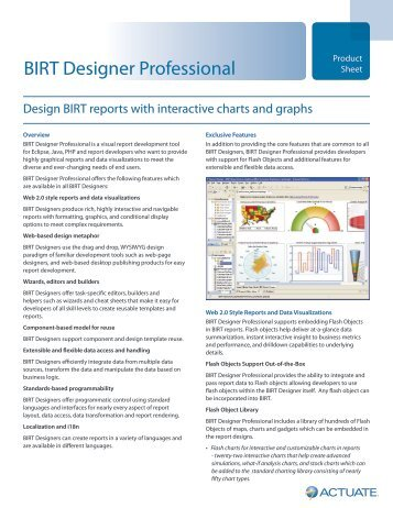 birt report designer tutorial