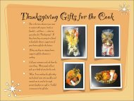 How to make Thanksgiving gift sets 6 pages of instructions - QT Office