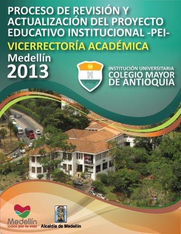 Invitación Actualización del PEI - Colegio Mayor de Antioquia