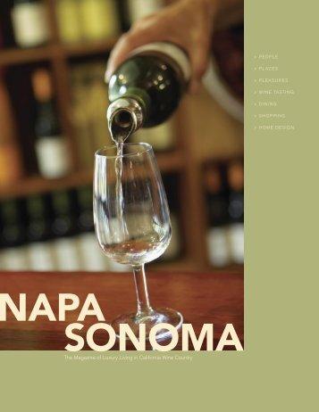 napa Sonoma - Diablo Magazine
