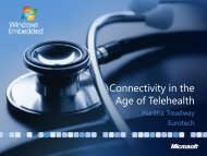 Connectivity in the Age of Telehealth - Eurotech