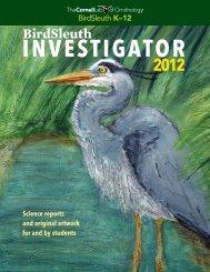 BirdSleuth - About Birds