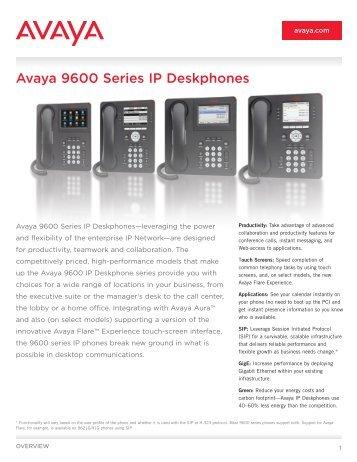 Avaya ip office 9600 vpn phone