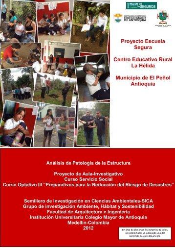 Análisis de patología de la estructura - Colegio Mayor de Antioquia
