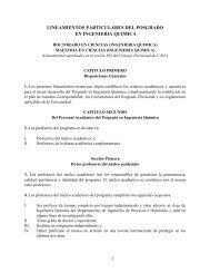 Lineamientos aprobados en la sesión 303 del Consejo ... - CBI - UAM