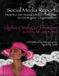 Social Media Report - studentwebs.ColumbusState.edu