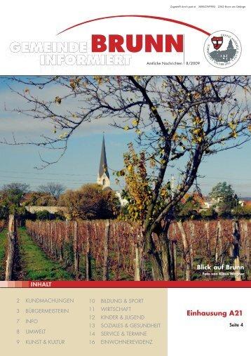 GZ 8-2009.pdf, Seiten 1-16 - Brunn am Gebirge