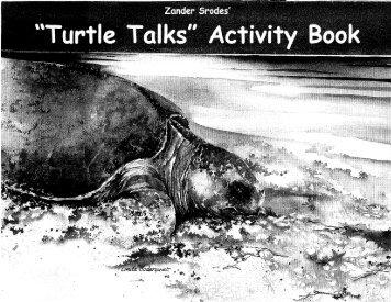 Turtle Talks Activity Book - Tampa Bay Water Atlas