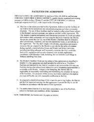 2008 Corning Union High School Dist. Facility Use Agreement