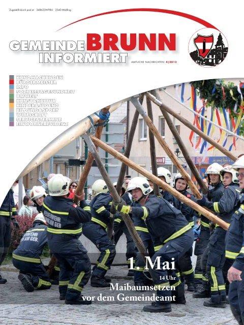 Gemeindezeitung 4/2012 - Brunn am Gebirge