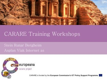 CARARE Training Workshop repox.pdf