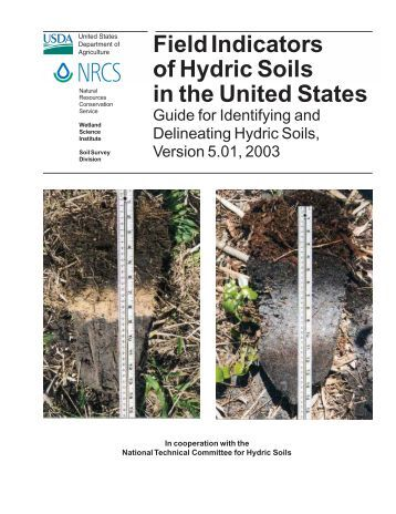 Guidelines for determining whether an altered soil is hydric for Soil quality indicators
