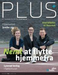 Magasinet PLUS - Sommer 2015 - Nemt at flytte hjemmefra