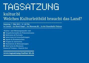 tagsatzung A5_RZ_CMYK_tagsatzung A5 - Tagsatzung kultur.bl