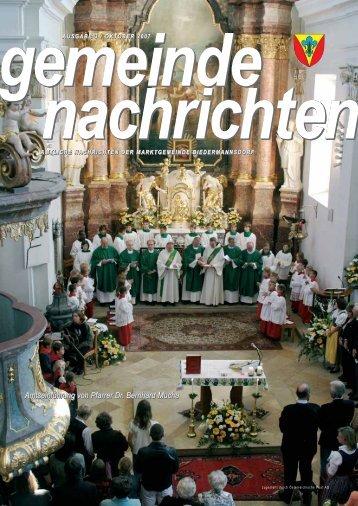 Gemeindenachrichten 2007-3 - Biedermannsdorf