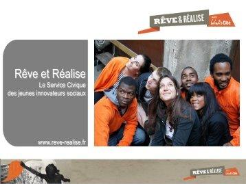 """Présentation du programme """"Rêve et Réalise"""" - CRESS PACA"""