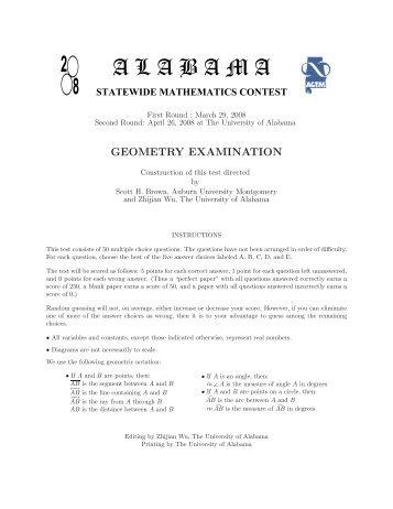 Geometry (pdf)