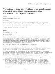 Verordnung über die Prüfung zum anerkannten Abschluß Geprüfter ...