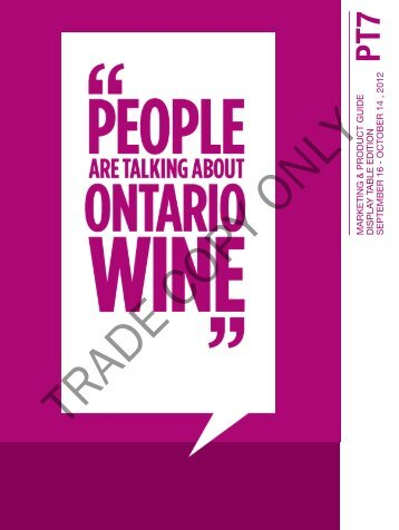 october 14 , 2012 - Doing Business with LCBO