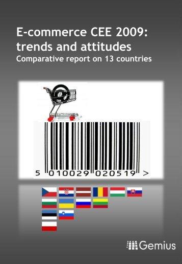 E-commerce CEE 2009 - Gemius