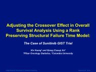 Adjusting the Crossover Effect in Survival Analysis Using a Rank ...